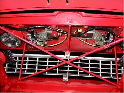 C2 headlight doors