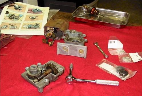 C2 headlight motor rebuild question for Corvette headlight motor rebuild